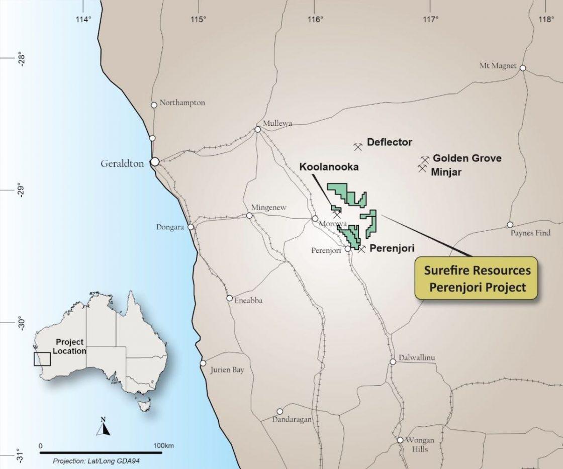 Perenjori iron ore project