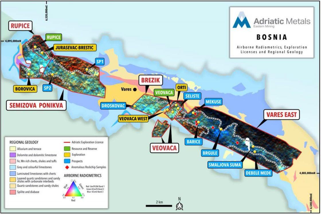 Vares Project geophysical survey